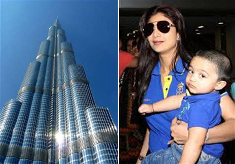 Burj Khalifa Top Floor Owner by Shilpa Shetty Wants To Sell Burj Khalifa Apartment