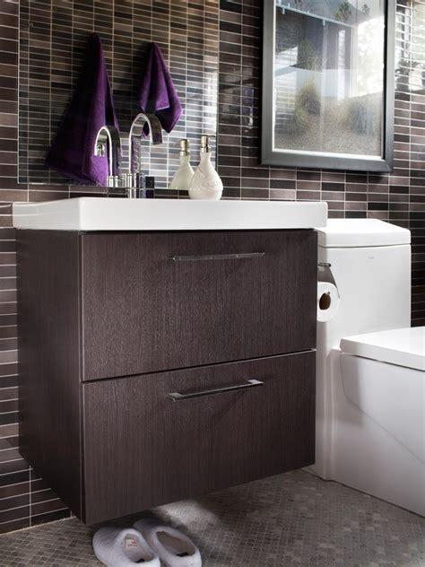 create contemporary   mid century modern bathroom
