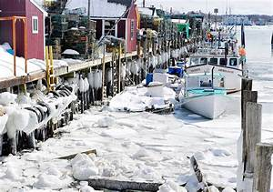 Frozen Portland39s Icy Harbor Then And Now Press Herald