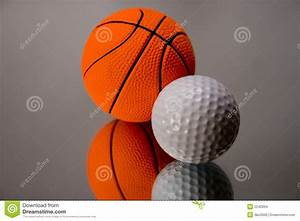 Basketball Or Golf? Stock Images - Image: 2242894