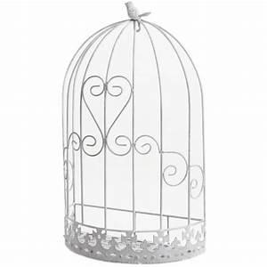Cage Oiseau Deco : cage murale d co oiseau en m tal 32x17x53cm achat vente voli re cage oiseau cage murale ~ Teatrodelosmanantiales.com Idées de Décoration