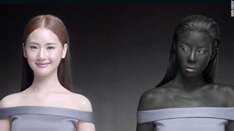 white   win ad highlights global issue  colorism