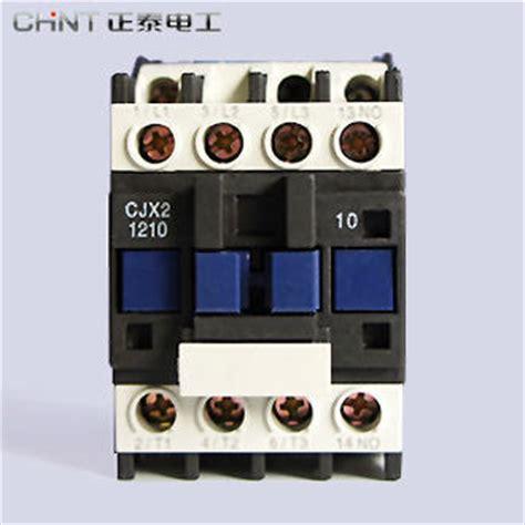 original chint electrical circuit ac contactor cjx2 1201 cjx2 220v 380v 12a 3 pole 3p nc in
