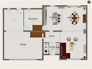 plan et amenagement interieur de notre demi niveau 32 With plan maison demi niveau