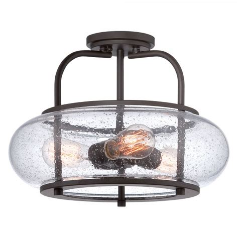 semi flush kitchen lighting low ceiling light with bronze frame clear glass shade and 5132