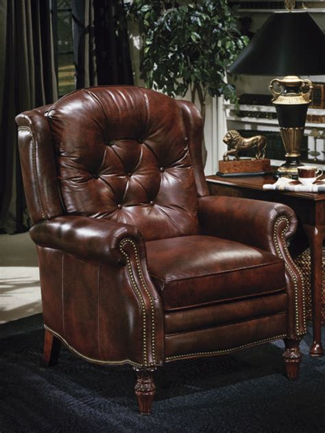 high quality leather recliner victoria  bradington young