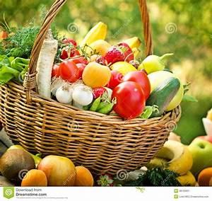 Obst Mit L : korb mit obst und gem se nahaufnahme stockbild bild von kiwi kohlrabi 38135831 ~ Buech-reservation.com Haus und Dekorationen
