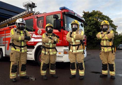 More Women Firefighters