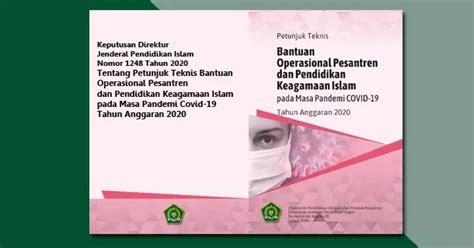Silabus fisika smk pada masa pandemi : Juknis BOP Pesantren dan Pendidikan Keagamaan Islam pada Masa Pandemi COVID-19 Tahun 2020 ...