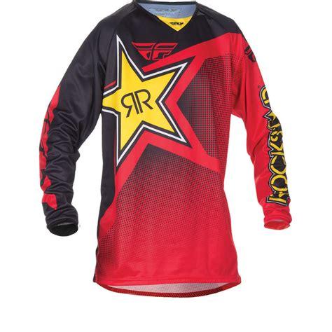 fly motocross jersey fly racing 2017 kinetic rockstar motocross jersey