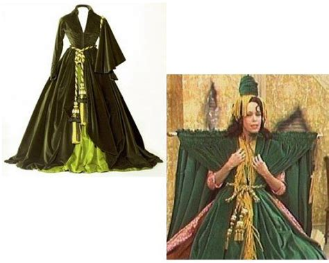 With The Wind Green Curtain Dress by Pin By Ro Rainwater On Hahaha