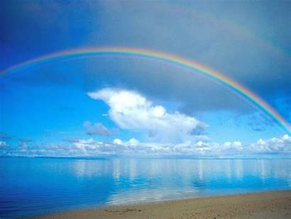 Rainbow Desktop Nature Background Colorful Ocean Wallpapers