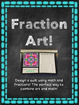 equivalent fraction art project  kemcreations tpt