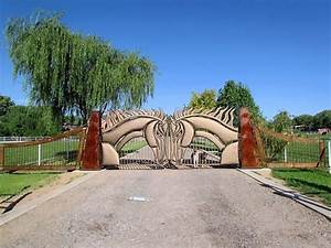 Entrance Gates - Albuquerque Custom Gates By Jose Varela