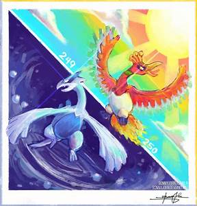 Lugia, Ho-Oh! Pokemon One a Day, Series 2! by BonnyJohn on ...