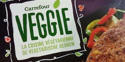 cuisine vegetarienne carrefour lance sa marque de produits végétariens vegan
