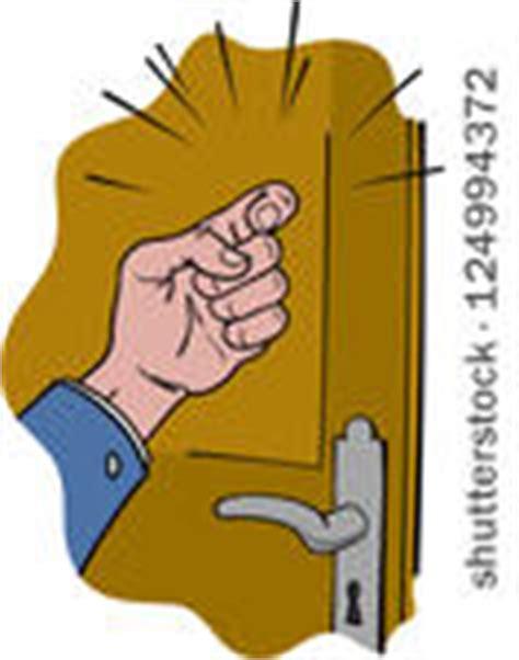 frapper a la porte knock door vector 136 signs page 1