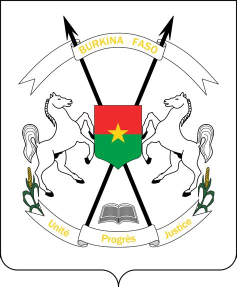 burkina faso visa application form the official emblem of the burkina faso