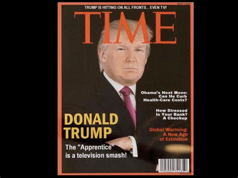 Trump Has A Fake Time Magazine Cover Hanging In Several Of