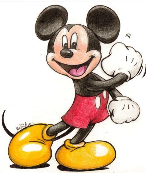 mickey mouse drawing  mayu chan  deviantart
