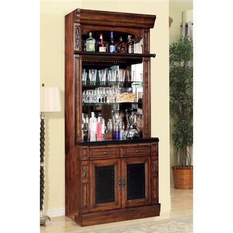 Bar Hutch by Leo465h House Furniture Leonardo Accent Bar Hutch