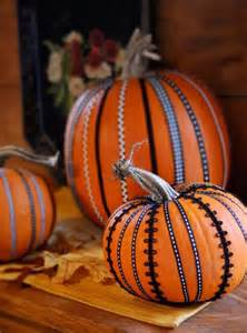 Pumpkin Decorated with Ribbons