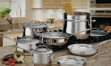 stainless steel cookware pots pans rated list sets