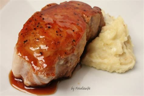 how to cook boneless pork chops cider glazed boneless pork loin chops recipe by debby cookeatshare