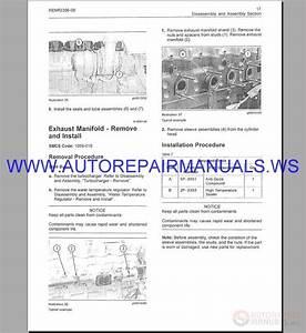 Caterpillar C7-c16 Engine Repair Manual From 2002-2012