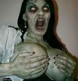 Pics of sexy zombie women