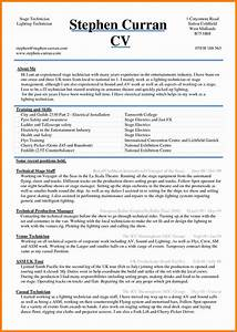 5 cv sample word document theorynpractice With how to format a resume in word