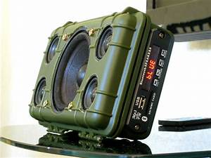 Diy Tough Bluetooth Boombox  Lasts 20hrs