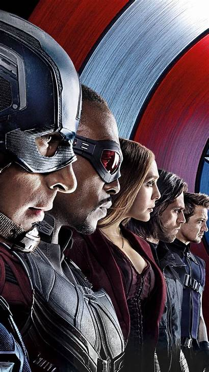 Captain America Scarlet Witch Winter Soldier Civil
