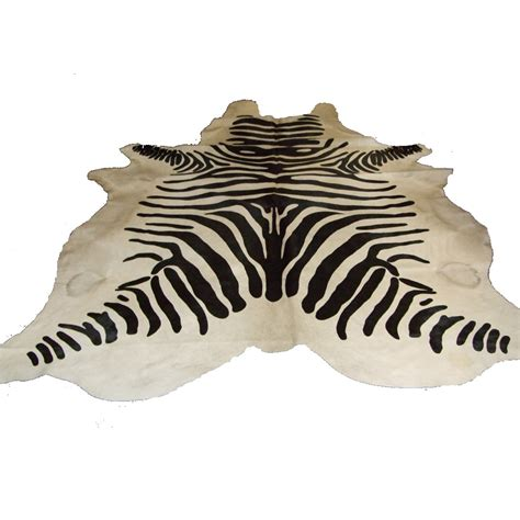 cowhide zebra print rug zebra print cowhide rug bedroom company