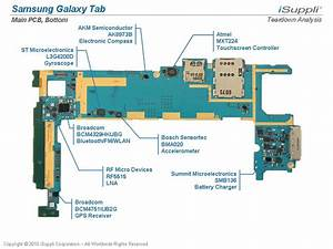 Samsung Galaxy Tab Carries  205 Bill Of Materials  Isuppli Teardown Reveals