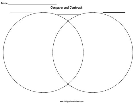 compare contrast worksheets writing organizers worksheets