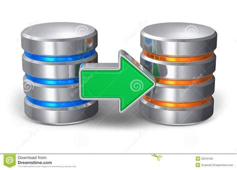 Database Backup Concept Stock Illustration. Image Of File