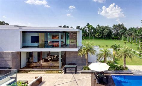 Tropical Villa by Two Story Tropical Villa Interior Design Ideas