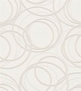 Glasfaser Tapeten Muster : vliestapete wei grafisch wallton rasch 342208 ~ Markanthonyermac.com Haus und Dekorationen