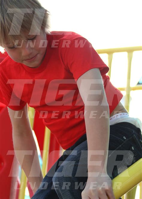 boys tiger training pants  panel front