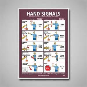 Crane Hand Signals Chart