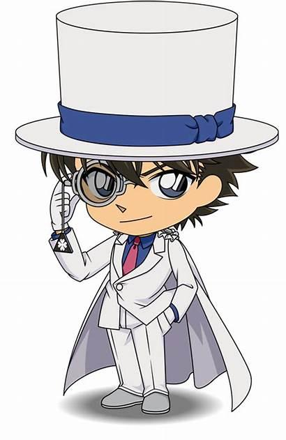 Kaito Detective Conan Kid Magic Kuroba Chibi