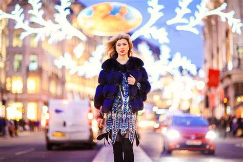 winter fashion photoshoot  soho london margarita karenko photography