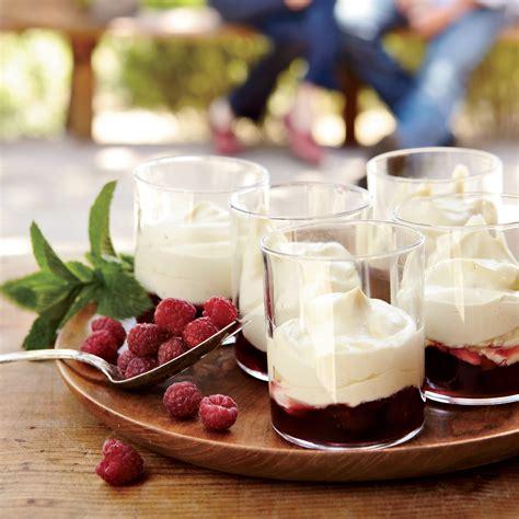 vanilla zabaglione with raspberries recipe michael emanuel boetticher food wine