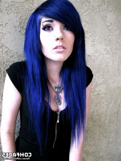 Cool Hair Color Ideas 2015 Hairstyles Trend Dark Blue