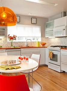 16 charming mid century kitchen designs that will take you With mid century modern kitchen design