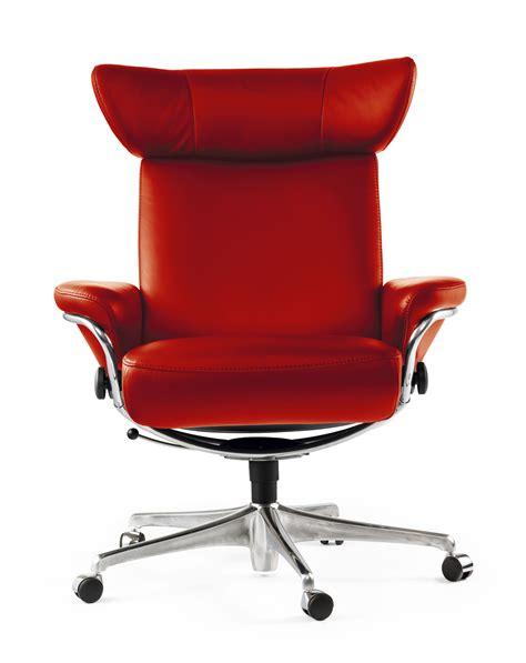 fauteuil de bureau cuir stressless
