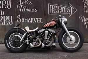 cool CHOPPER custom motor bike motorcycle bobber KD252