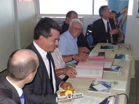 accord cadre de cooperation actualit 201 s cap d agde signature de l accord cadre de coop 233 ration pour une gestion durable de