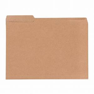 kraft letter size interior file folders the container store With letter size folder